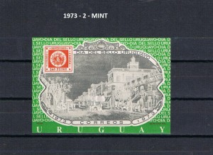 URUGUAY 1973-2 MINT