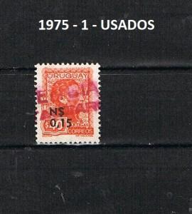 URUGUAY 1975-1 USADOS