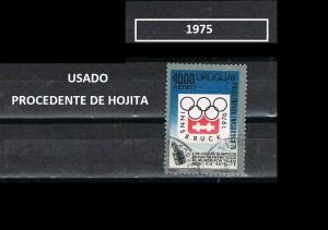 URUGUAY 1975-3 USADOS