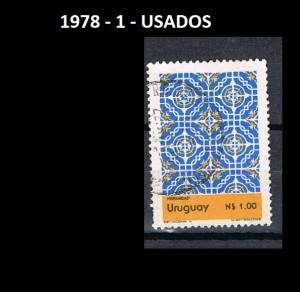 URUGUAY 1978-1 USADOS