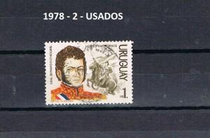 URUGUAY 1978-2 USADOS