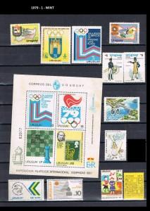 URUGUAY 1979-1 MINT