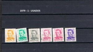 URUGUAY 1979-1 USADOS