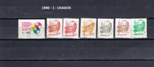 URUGUAY 1980-1 USADOS