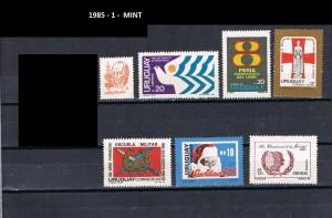 URUGUAY 1985-1 MINT