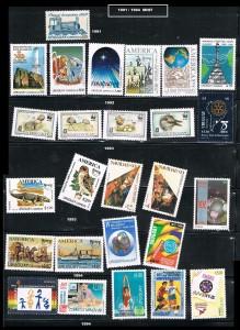 URUGUAY 1991-1994 MINT