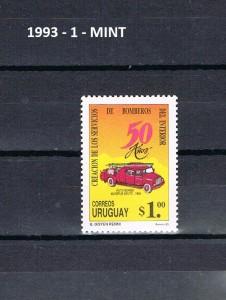 URUGUAY 1993-1 MINT.