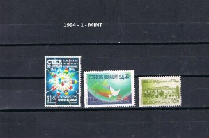 URUGUAY 1994-1 MINT