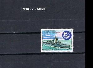 URUGUAY 1994-2 MINT