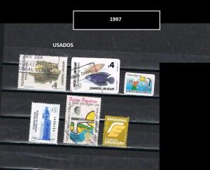 URUGUAY 1997-1 USADOS