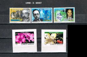 URUGUAY 1998-3 MINT