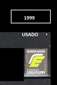 URUGUAY 1999-2 USADOS