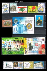 URUGUAY 2003-3-MINT