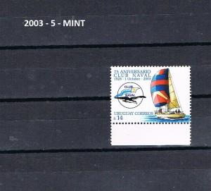 URUGUAY 2003-5-MINT