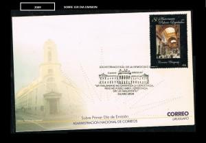 URUGUAY 2009-1-SOBRE 1ER DIA