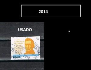 URUGUAY 2014-1-USADO