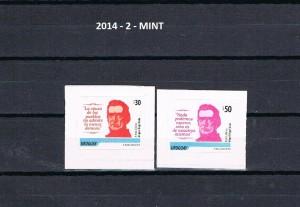 URUGUAY 2014-2-MINT