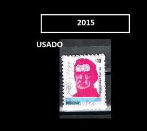 URUGUAY 2015-1-USADO