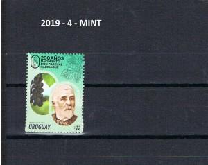 URUGUAY 2019-4-MINT