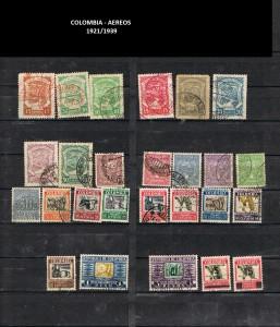 W COLOMBIA    1921-1939.   39   AEREOS