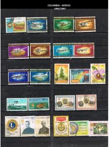 W COLOMBIA   1965-1967 49 AEREOS