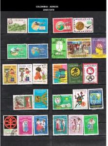 W COLOMBIA   1969-1970 51 AEREOS