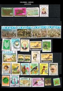 W COLOMBIA 1975 -78  55 AEREOS