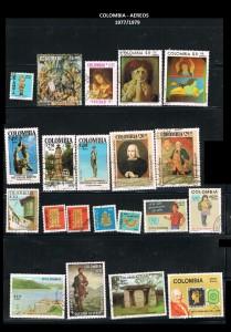 W COLOMBIA 1977-79  56 AEREOS