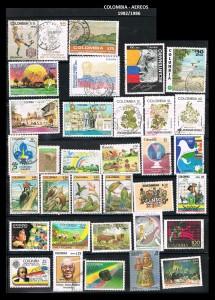 W COLOMBIA 1982-86  59 AEREOS