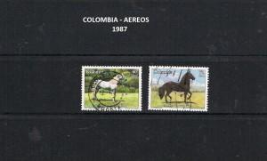 W COLOMBIA 1986-89  60A AEREOS