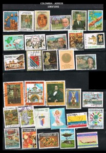 W COLOMBIA 1989-1992  62 AEREOS