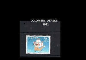 W COLOMBIA 1989-1992  62A AEREOS