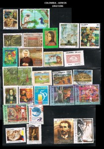 W COLOMBIA 1992-1996  64 AEREOS