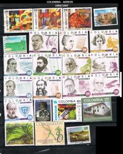 W COLOMBIA 1996-1997  66 AEREOS