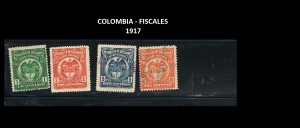 X COLOMBIA T FISCALES 1917  71