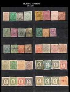 Y COLOMBIA - ANTIOQUIA  1869-1901  73