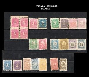 Y COLOMBIA - ANTIOQUIA  1902-1903  74